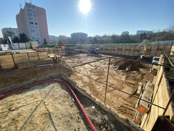 Construction of the View Spořilov project continues